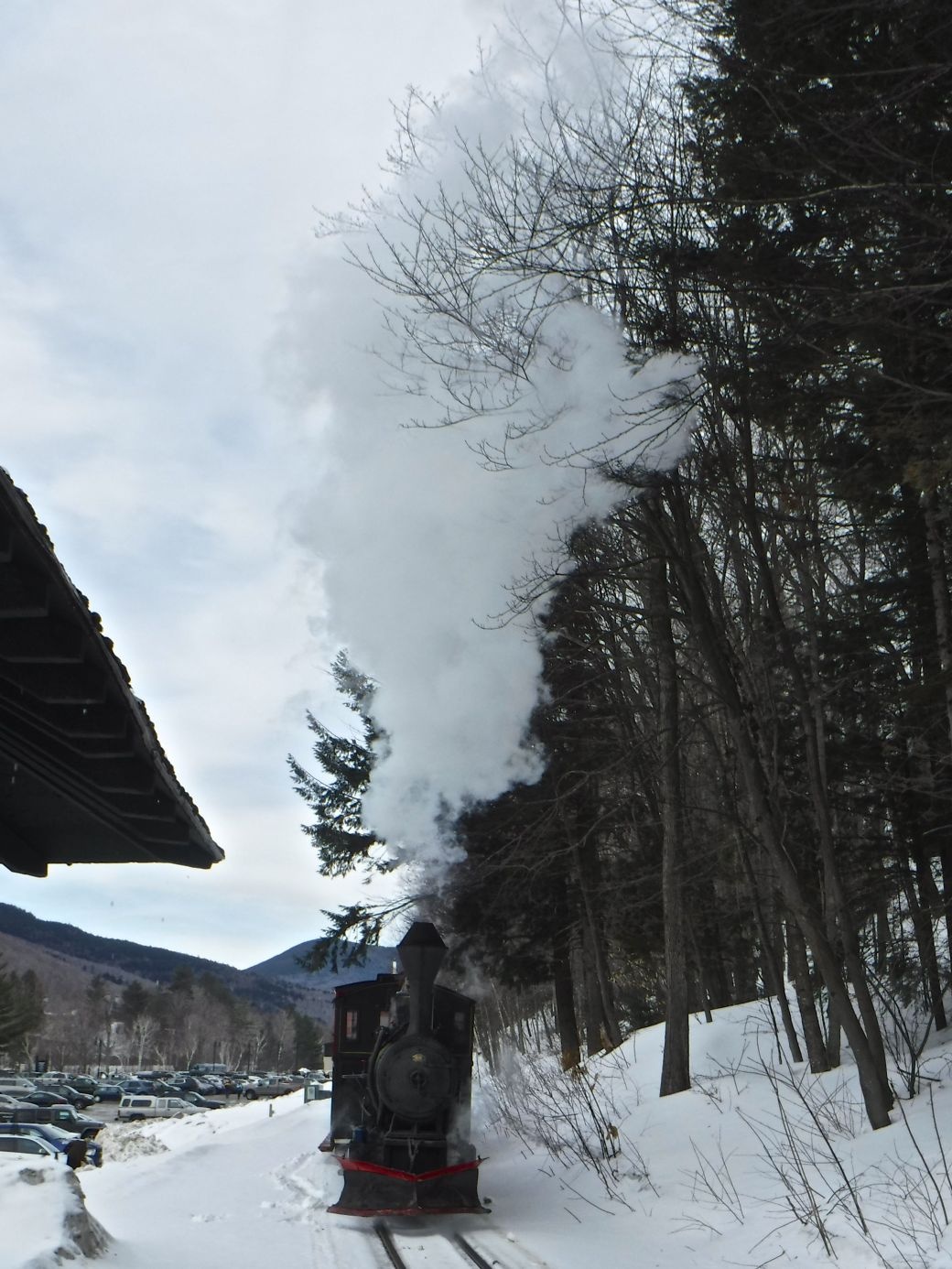 new hampshire loon ski resort steam train 4