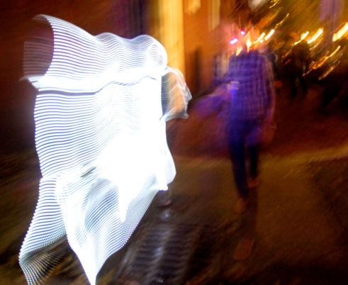 boston beacon hill halloween celebration 2019 light costume