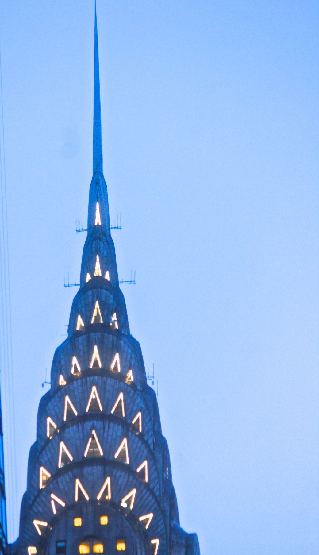 new york city chrysler building spire