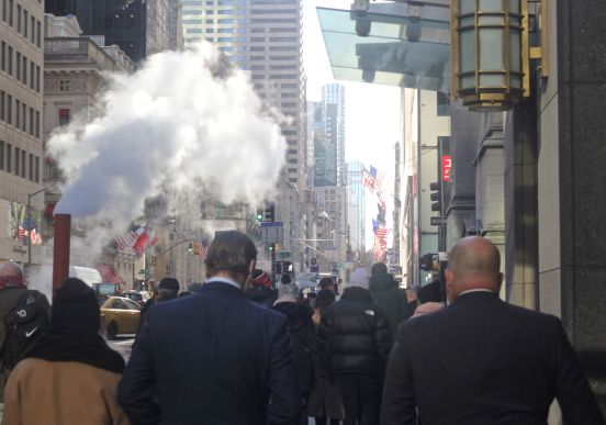 new york city fifth avenue steam