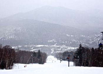 bretton woods ski resort snow mountain background