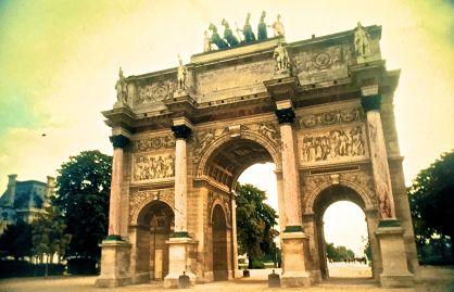 paris Arc de Triomphe du Carrousel slides 2001
