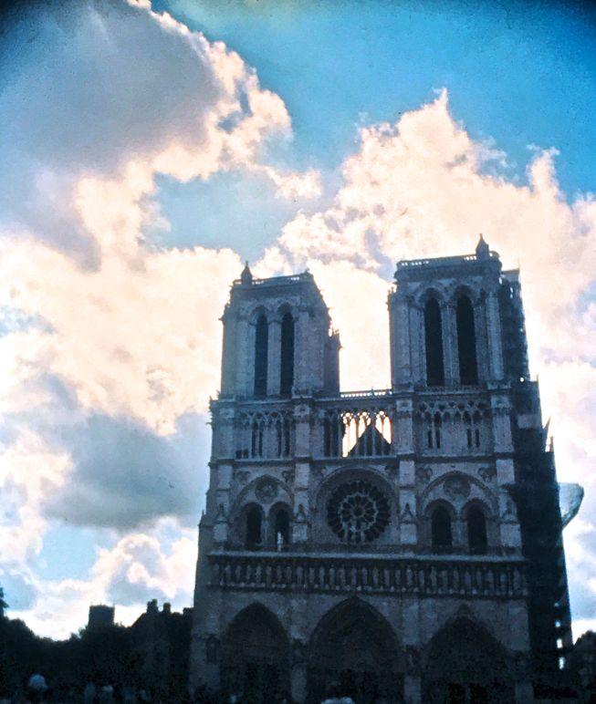 paris sacre coeur basilica clouds slides 2001