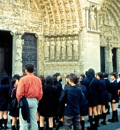 paris sacre coeur school trip