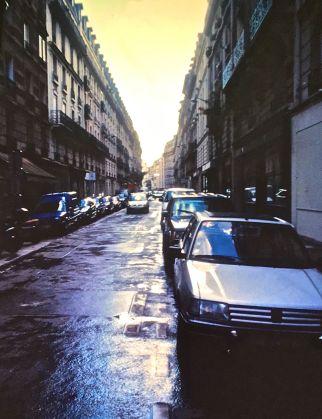 paris street after rain slides 2001