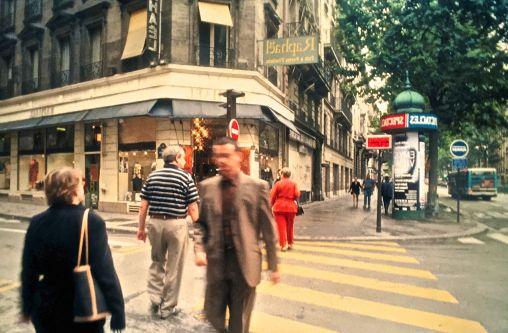 paris street people walking slides 2001