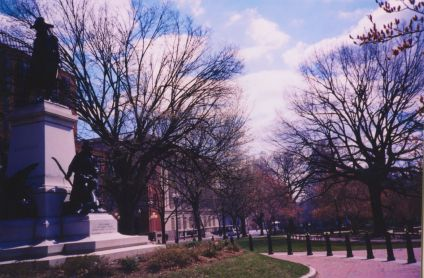 washington dc macpherson square statue of kosciusko lomo photos 41
