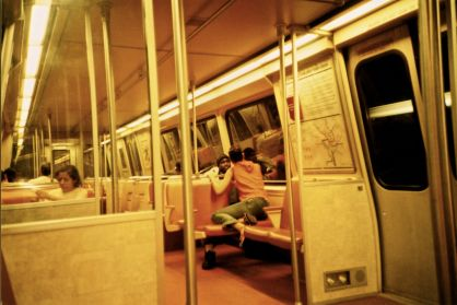 washington dc metro inside view Lomo Photos 14