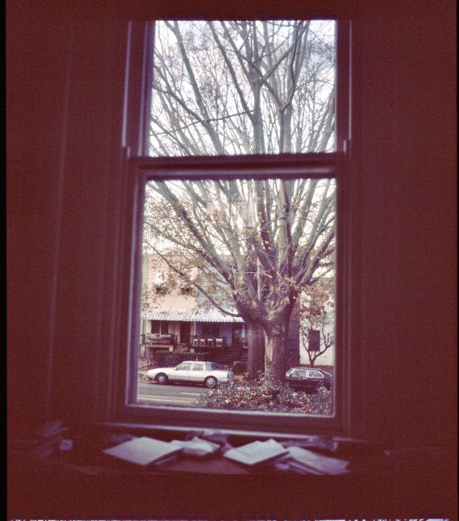 washington dc lubitel 166 2001 window view capitol hill