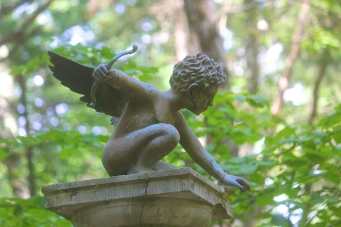 tower hill botanical garden cupid