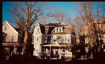 boston jamaica plain house with two sides portra 400