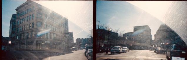 boston roxbury crossing car glass portra 400